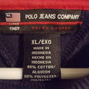 Polo by Ralph Lauren Shirts - Vintage Polo Ralph Lauren crew sweatshirt size XL